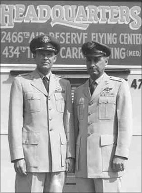 Colonel Dennison and LTC Salter